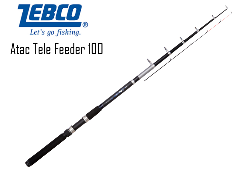 Zebco Atac Tele Feeder 100 (Length: 2.40m, Sections: 5, C.W.: 100gr)