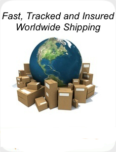Worldwide Shipping by EMS
