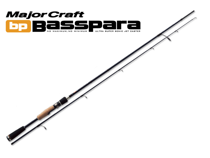 MajorCraft Basspara 2pcs Series Spinning BPS-632UL (Length:1.92mt, Lure:1/32-3/16 oz)
