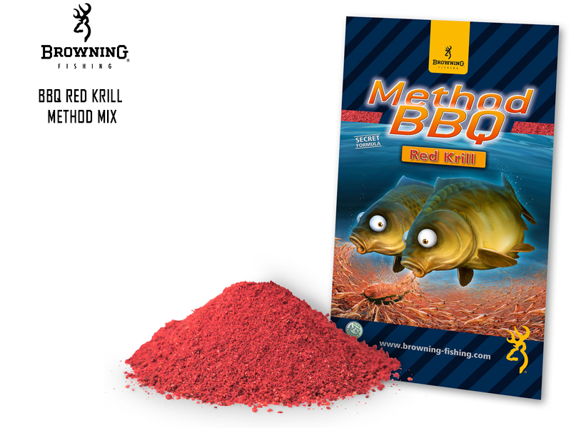 Browning BBQ Red Krill Method Mix