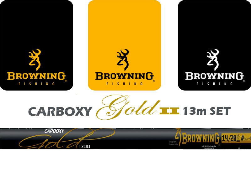 Browning Carboxy Gold II 13mt + Mini Extention