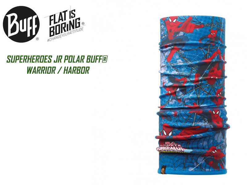 BUFF Superheroes JR Polar Buff (Color: Warrior/ Harbor)