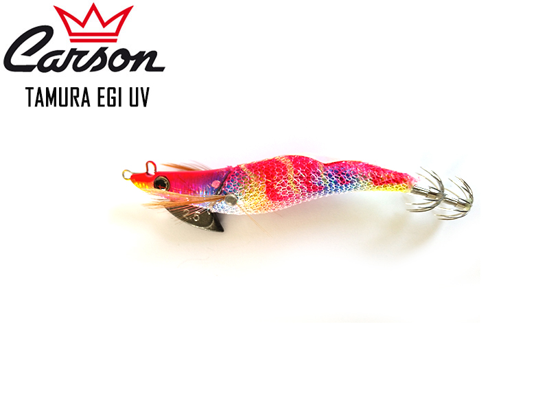 Carson Tamura Squid Lures (Size: 3.0, Color: Pink)