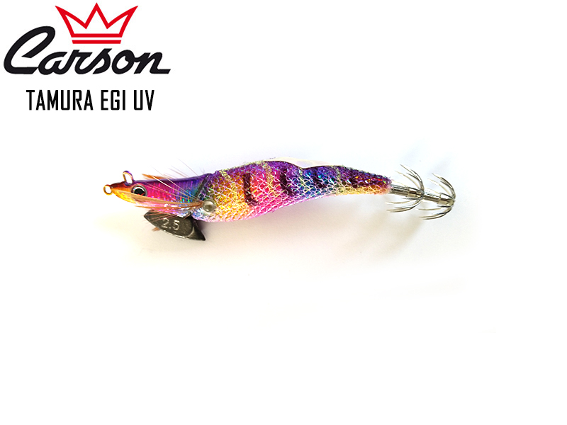 Carson Tamura Squid Lures (Size: 3.0, Color: Purple)