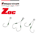 Major Craft Zoc Assist Hooks