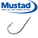 Mustad 528AD Hollow Point Round Hooks
