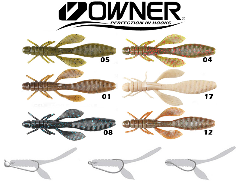 fishing lure - lures - soft - owner, Soft Baits