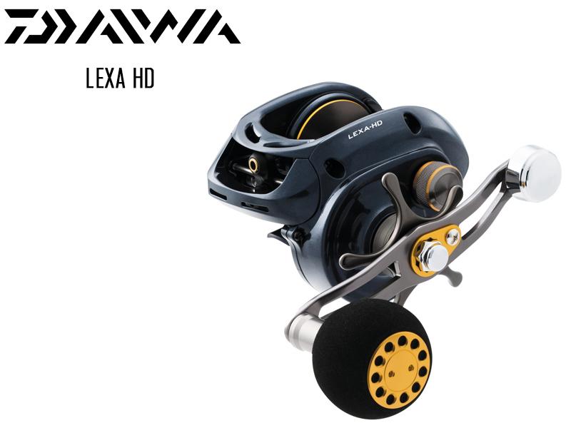 8.1:1 Baitcast Reel for sale online Left Hand Daiwa Lexa HD 300