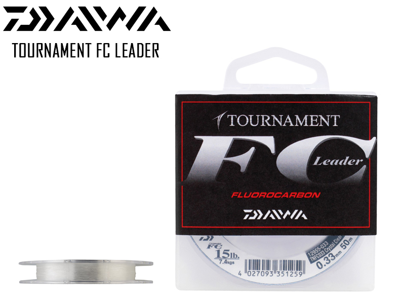 Daiwa Tournament FC Leader (Length: 50mt, Diameter: 0.40mm, Strength: 11.4kg)