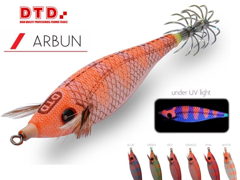 DTD SQUID FISHING LUMINOUS BODY JIG LURE WHITE KILLER BUKVA 2.5