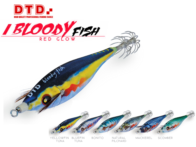 DTD Bloody Fish (Size: 2.0, Color: Natural Pilchard)
