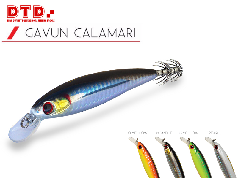 DTD Trolling Squid Jig Gavun Calamari (Size:100mm, Colour: Natural Smelt)