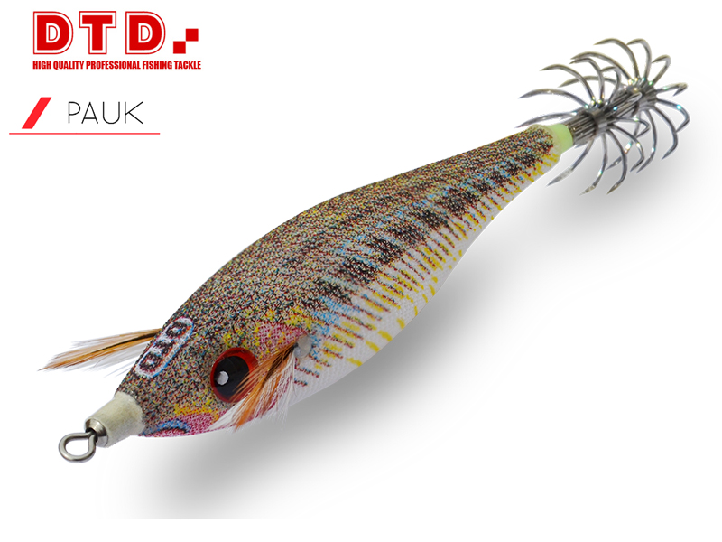 DTD Squid Jig Pauk (Size:2.5, Colour: Natural Weever)