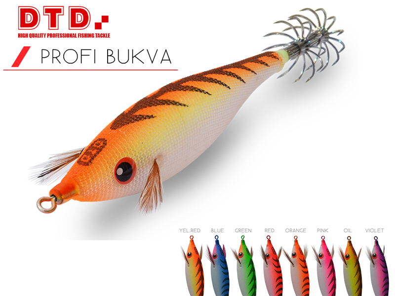 DTD Squid Jig Pirka (Size: 2.5, Colour: Green)