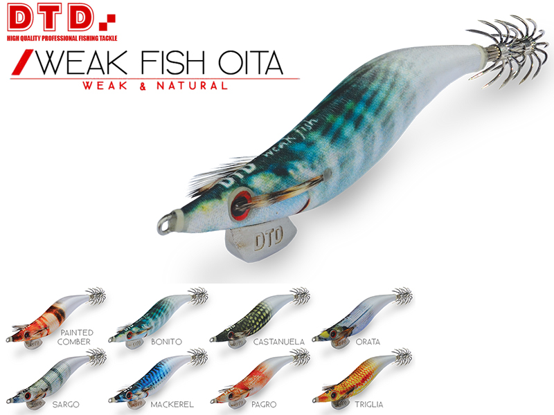 DTD Weak Fish Oita (Size: 3.5, Color: Painted Comber)