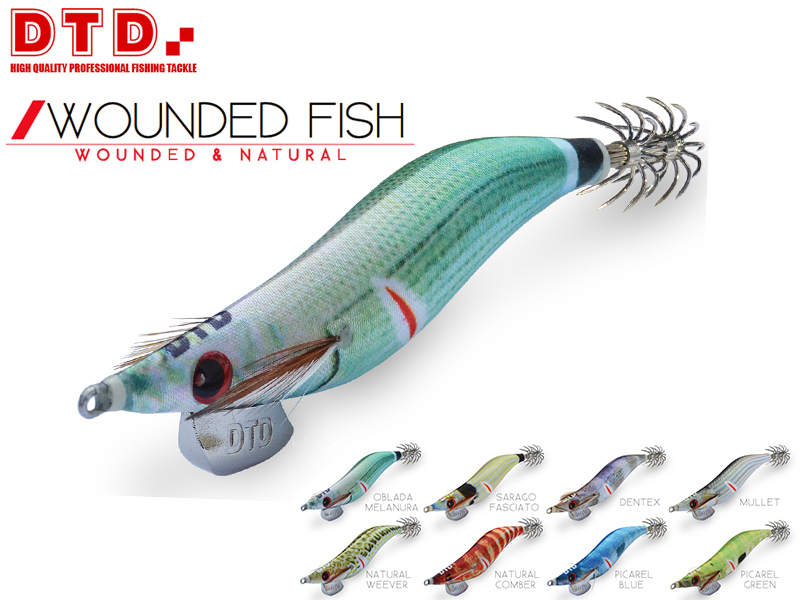 DTD Wounded Fish Oita (Size:4.0, Color: Natural Weever)