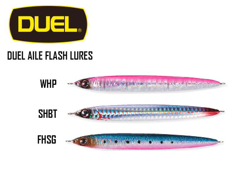 Duel Aile Flash Lures (Length: 21 cm, Weight: 200gr, Color: F939-FHSG)