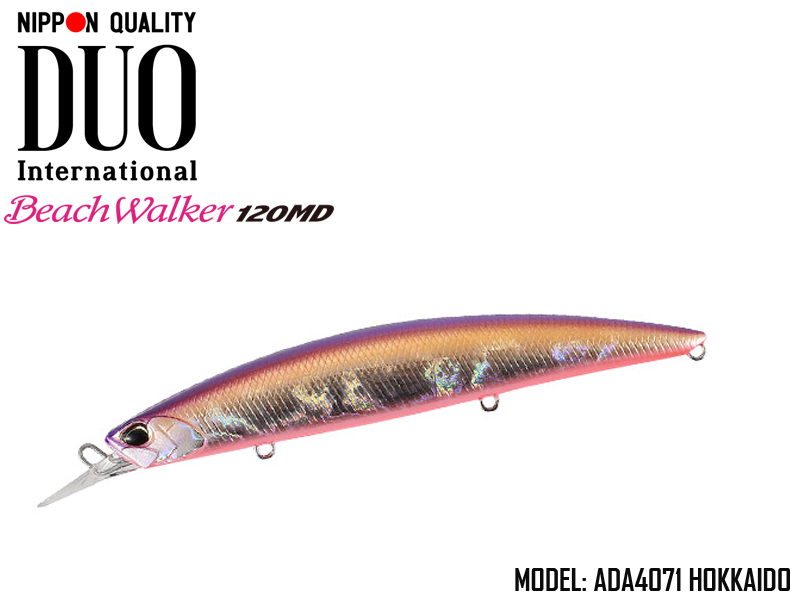 Duo Beach Walker 120 MD (Length: 120mm, Weight: 20g, Model: ADA4071 Hokkaido)