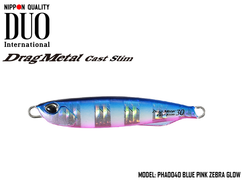 Duo Drag Metal Cast Slim 20gr PJA0210 Shirasu