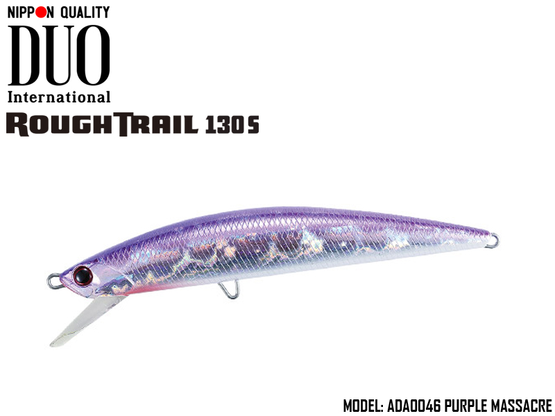 Duo Rough Trail 130S (Length: 130mm, Weight: 29gr, Type: Sinking, Colour: ADA0046 Purple Massacre)