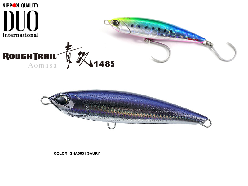 Duo Rough Trail Aomasa 148S (Length: 148mm, Weight: 67gr, Type: Sinking, Colour: GHA0031 Saury)