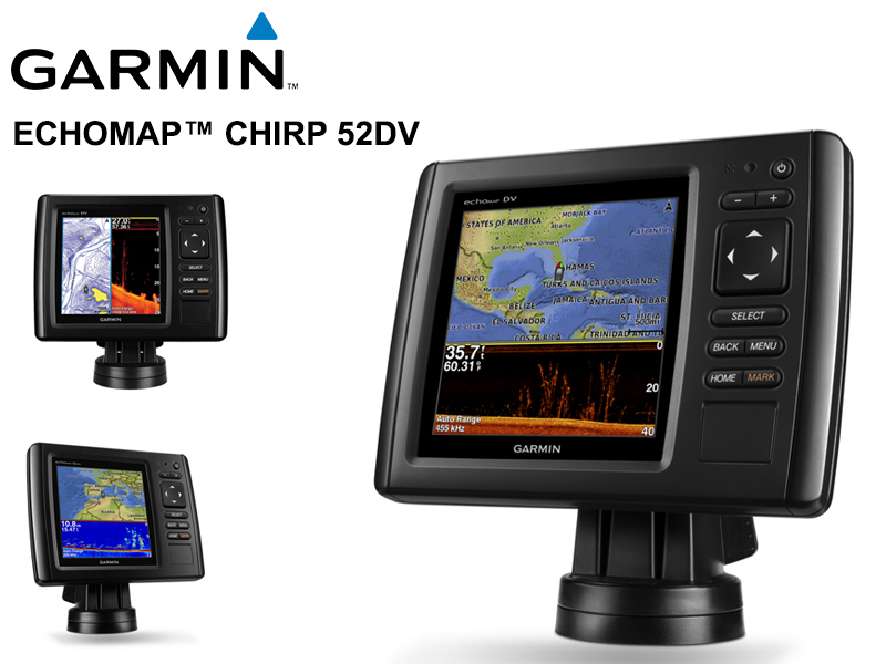 Garmin echoMAP™ CHIRP 52dv Without Transducer Version [GARM010-01566