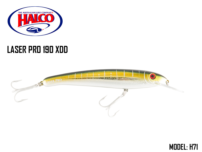 Halco Laser Pro 190 XDD (185mm, 47gr, Color: H71)