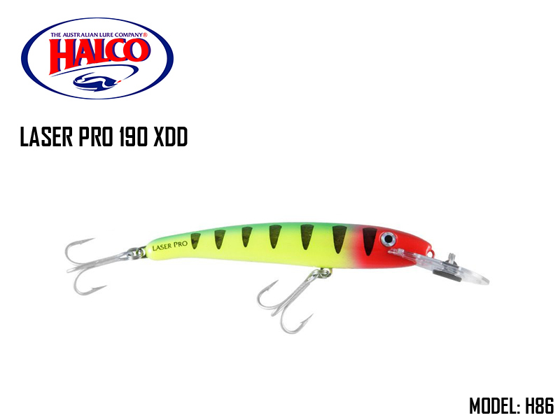 Halco Laser Pro 190 XDD (185mm, 47gr, Color: H86)