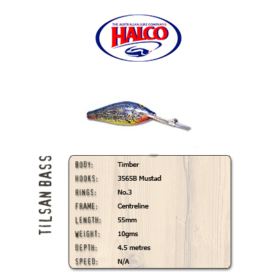 Halco Tilsan Bass (55mm, 10gr, Color: T106)