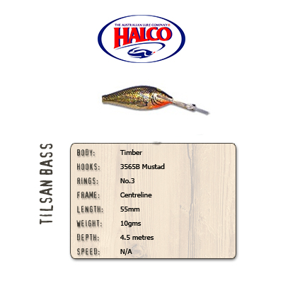 Halco Tilsan Bass (55mm, 10gr, Color: T110)