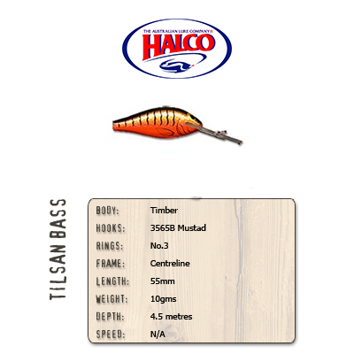 Halco Tilsan Bass (55mm, 10gr, Color: T123)
