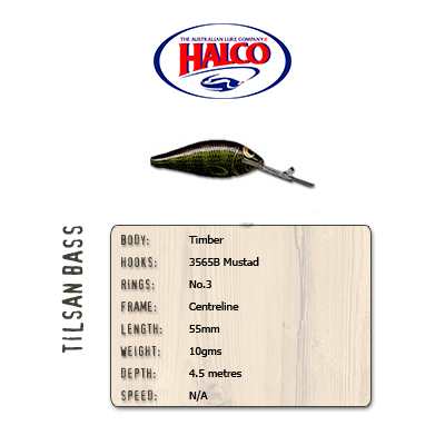Halco Tilsan Bass (55mm, 10gr, Color: T125)