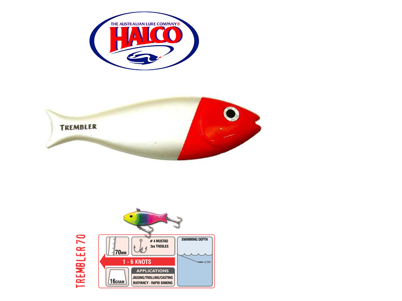 Halco Trembler 70 (70mm, 16gr, Color: H53)