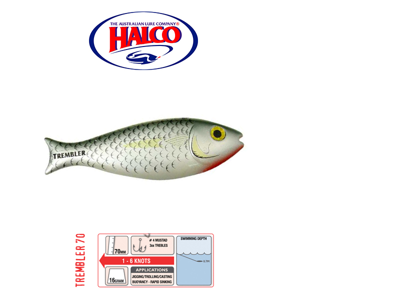 Halco Trembler 70 (70mm, 16gr, Color: R25)