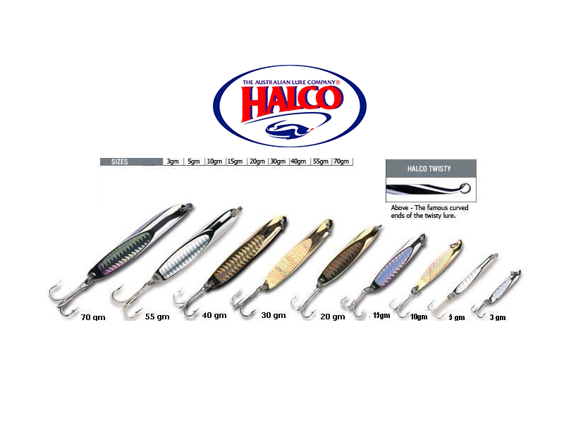 Halco Twisty (Chrome, 1.5gr)