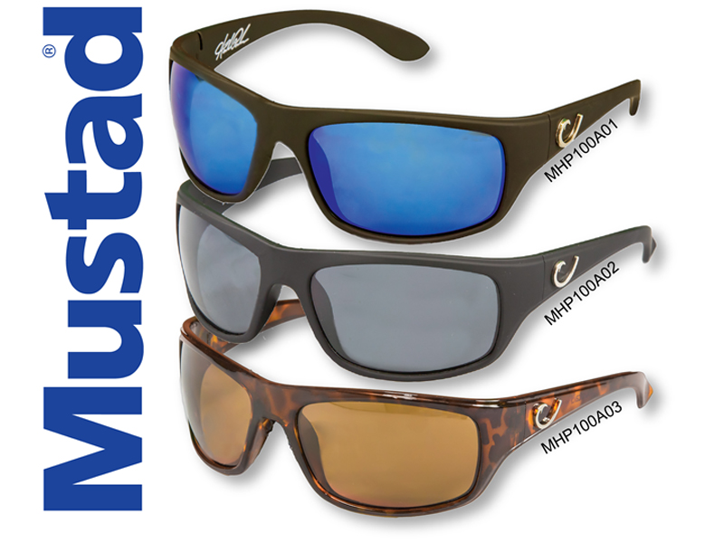 Mustad H.P Polarized Sunglasses Style 100A (Code:MHP100A03)