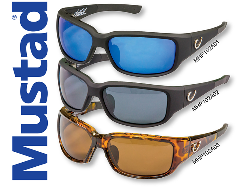 Mustad H.P Polarized Sunglasses Style 102A (Code:MHP102A01)