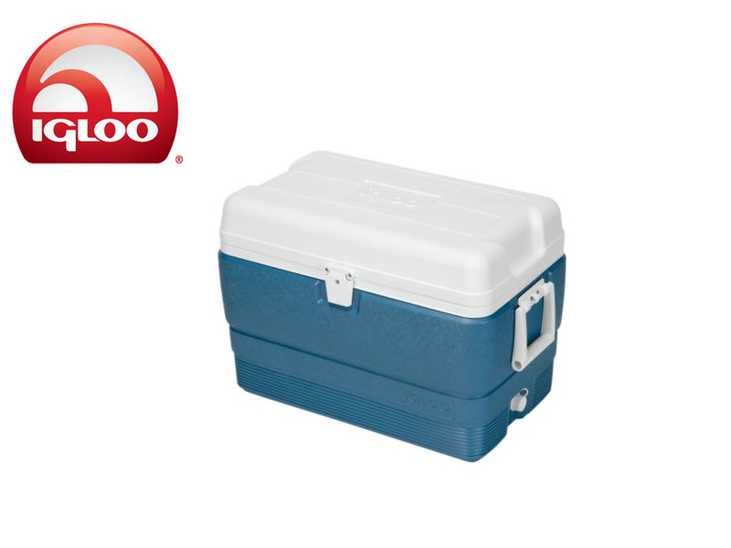 Igloo Cooler Ice Blue MaxCold 50 (Blue, 47 liters)