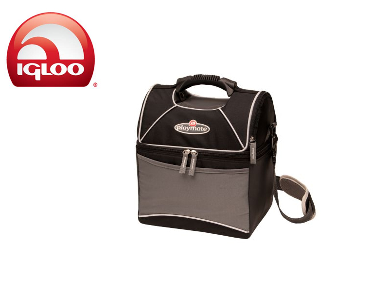 Igloo Cooler Playmate Gripper 9 (Black/Grey, 9 Cans/6 Liters)