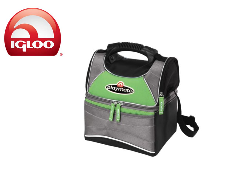 Igloo Cooler Playmate Gripper 9 (Green/Grey, 9 Cans/6 Liters)