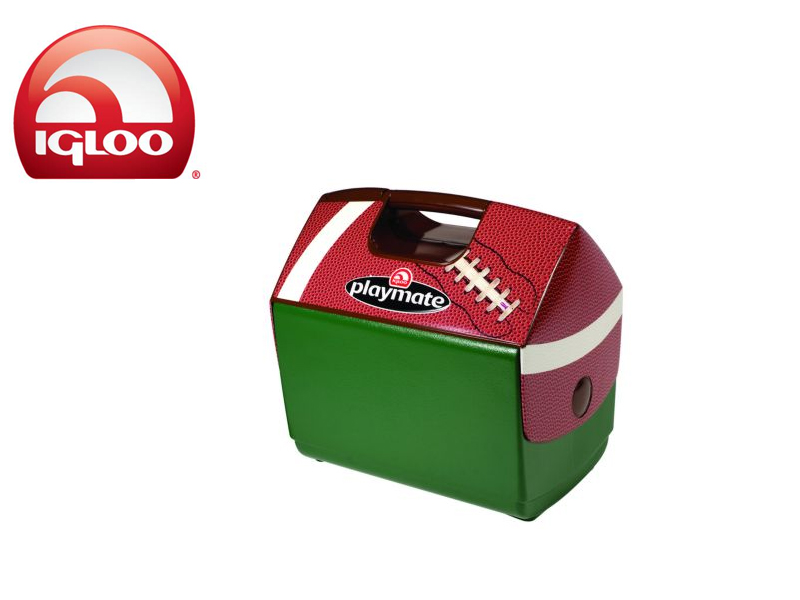 Igloo Cooler Playmate Football (Green, 15 Liters)