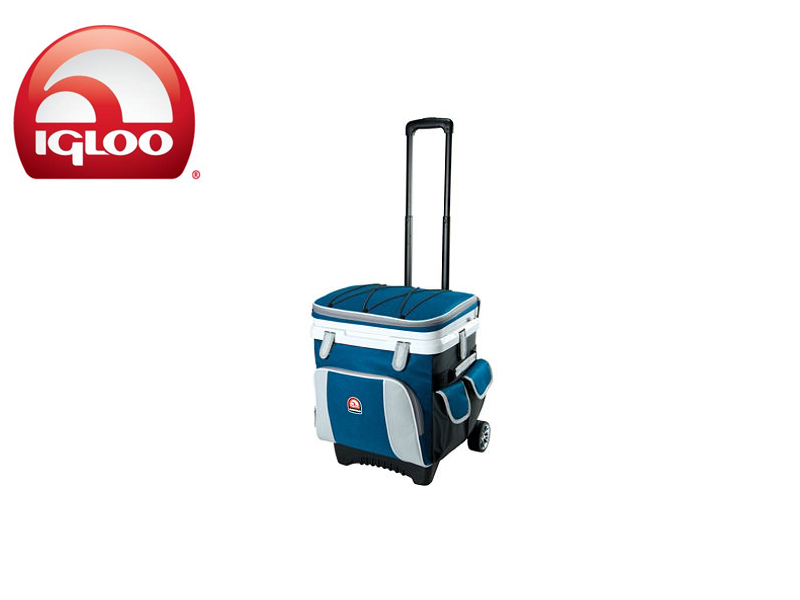 Igloo Cooler Cool Fusion™ 36 Quart Roller (Blue, 25 liters)