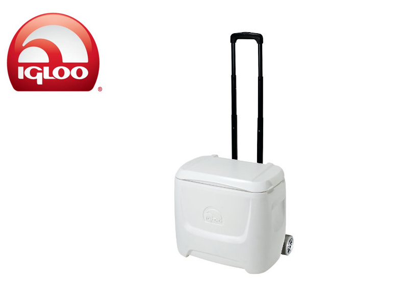 Igloo Cooler Marine Breeze 28 Roller (White, 26 liters)