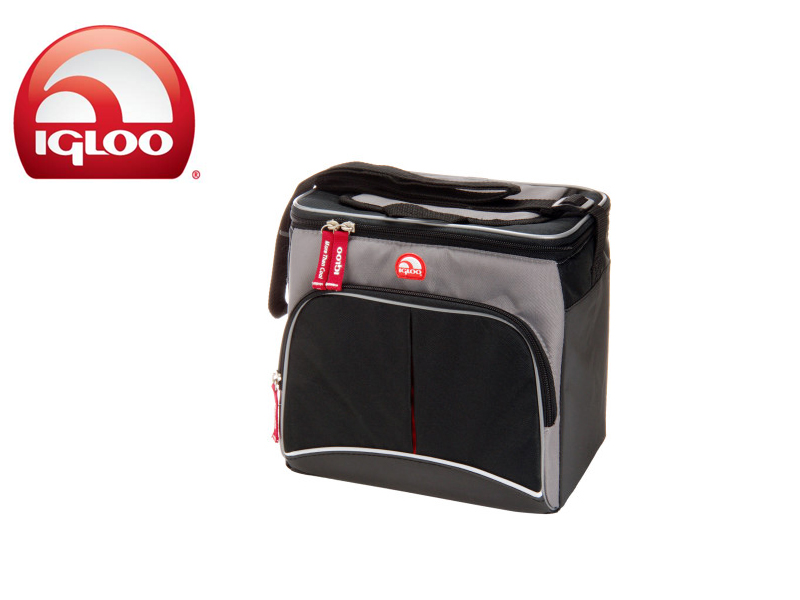 Igloo Cooler Vertical HLC 9 (Grey/Black, 9 Cans/6 Liters)