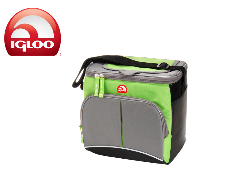 Igloo Cooler Vertical HLC 9 (Green/Greyk, 9 Cans/6 Liters)
