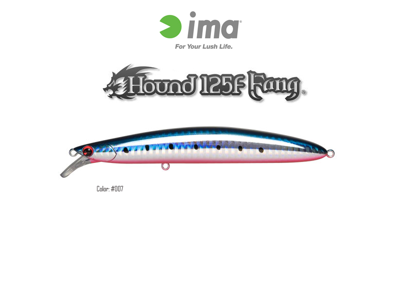 IMA Hound 125F Fang (Length:125mm, Weight:20gr, Color:#007)