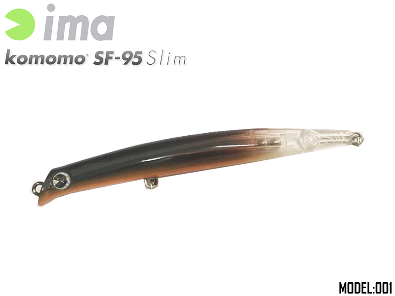IMA Komomo SF-95 Slim (Length: 95mm, Weight: 6gr, Color:X2903)