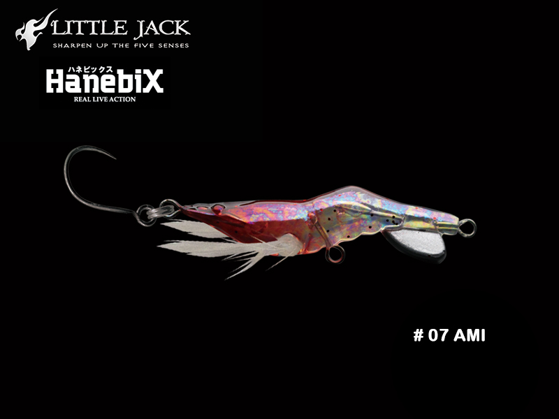 Little Jack Hanebix Custom (Length: 50mm, Weight: 11gr, Color: #07 Ami)
