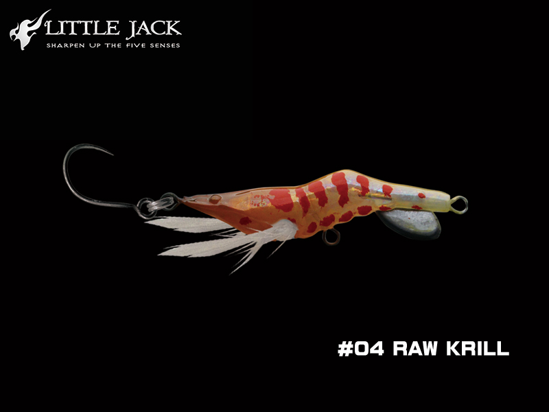 Little Jack Hanebix Custom (Length: 35mm, Weight: 2.5gr, Color: #04 Raw Krill)