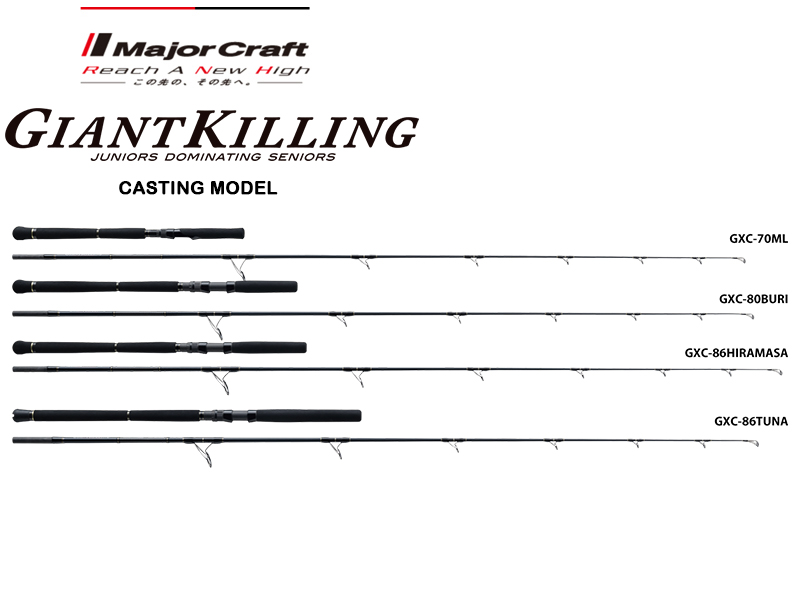 Major Craft Giant Killing 2017 Casting Model GXC-86TUNA (Length: 2.62mt, Lure: MAX 120gr)
